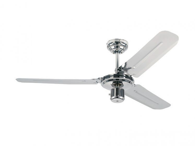 Fan Industrial Chrome 48