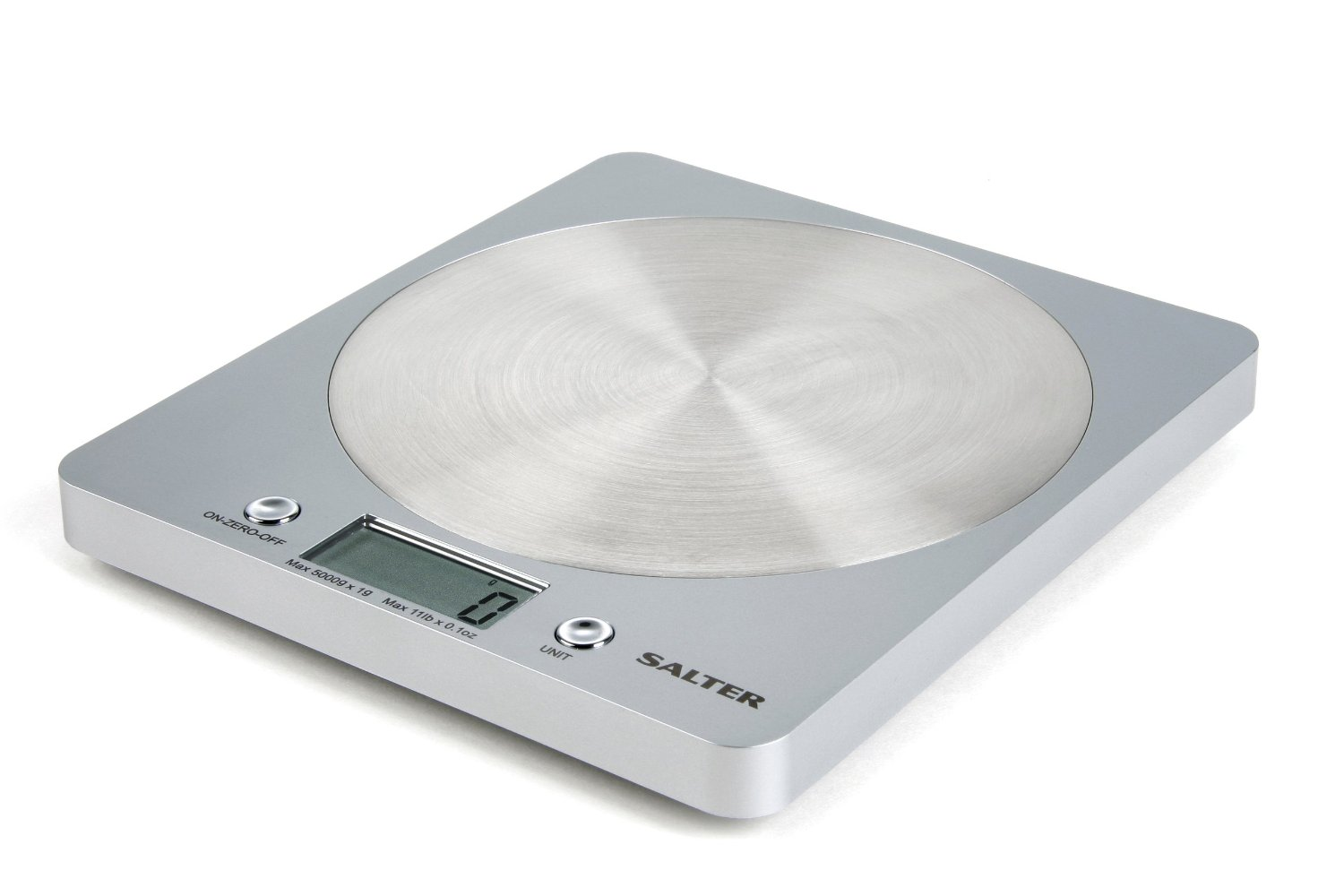 Household : Salter Disc Electronic Kitchen Scale Silver 1036