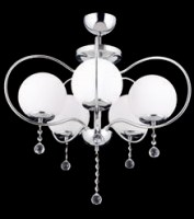 10275 Nevez Chandelier x 5 Chrome