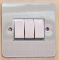 10A 3 Gang 2 Way Switch