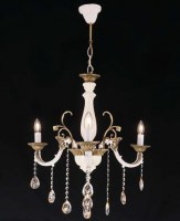 14083 Zara x 3 Chandelier Antique