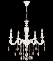 14115 Elif x 5 Chandelier White