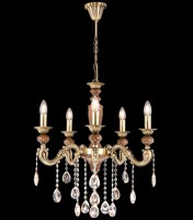 14115 Elif x 5 Chandelier Antique