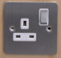 1 Gang 13A Socket D Pole