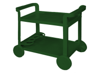 AMALFI TROLLEY Green