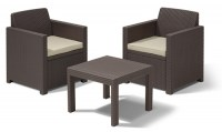 Allegro balcony brown - warm taupe