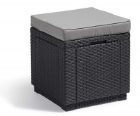 Cube graphite- cool grey