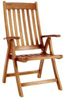 Folding Chair with Arm 58x64x96