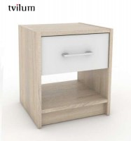 Night Stand Oak / White TV70153AKUU
