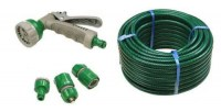 PVC Reinforced Hose 30m C/W Fittings & Spray Gun FAIHOSE30AV