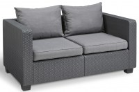SALTA 2-SOFA GRAPHITE low