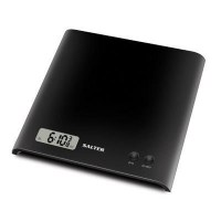 Salter Arc Platform  Electronic LCD  Black Kitchen Scale 1066