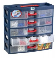 Transparent Drawer Cabinet 5 Lvl