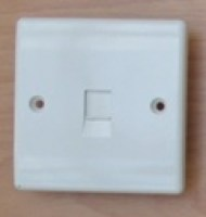 White 1G Data Socket