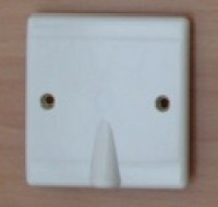 White 20A Connection Plate