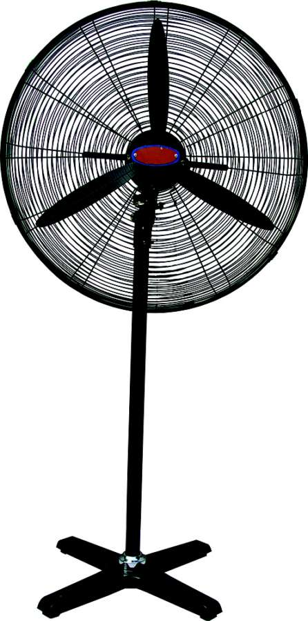 Industrial Stand Fan : Heating cooling inch industrial stand fan fs